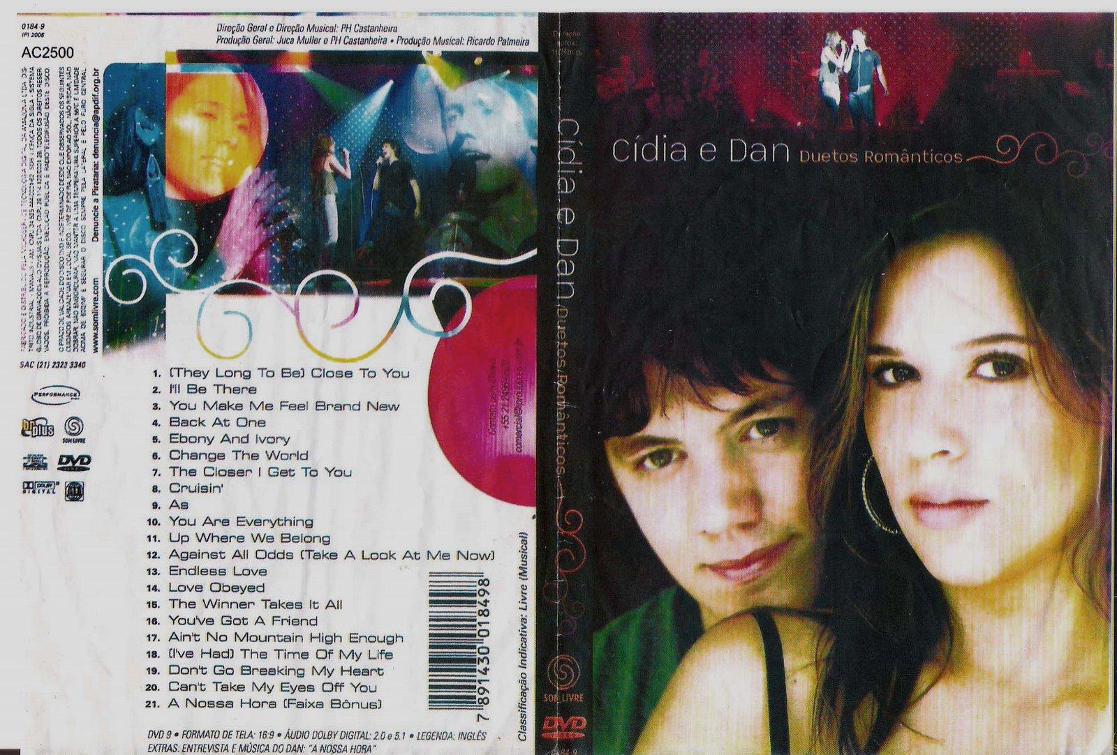 cidia e dan duetos romanticos 2